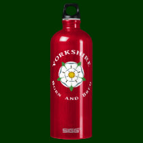 Yorkshire Born and Bred Water Bottle