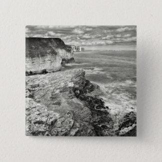 Yorkshire coast 15 cm square badge