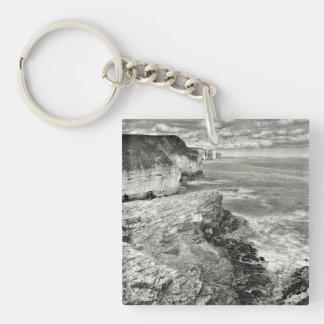 Yorkshire coast key ring