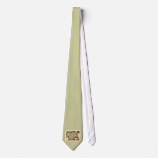Yorkshire County Map, England Tie