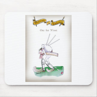 Yorkshire Cricket 'out for n'owt' Mouse Mat