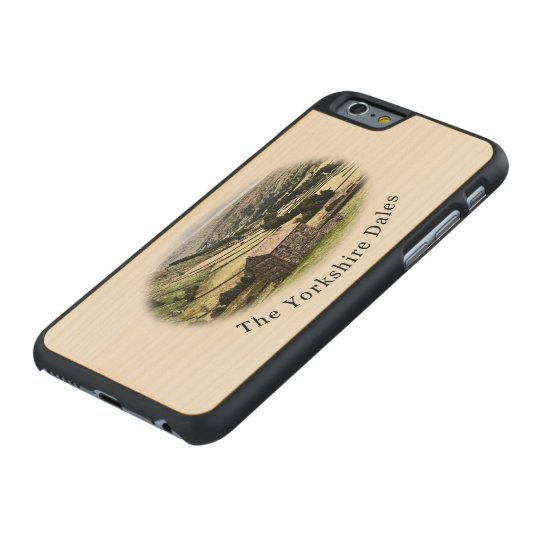 Yorkshire Dales maple iPhone 6 case. Carved® Maple iPhone 6 Case