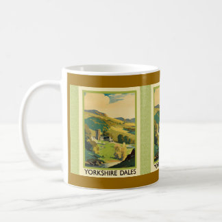 Yorkshire Dales Travel Poster Coffee Mug