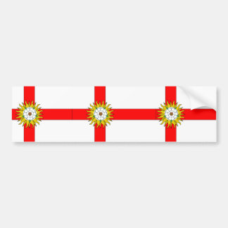 Yorkshire (Flag Institute), United Kingdom Bumper Sticker