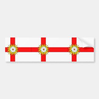 Yorkshire (Flag Institute), United Kingdom Car Bumper Sticker