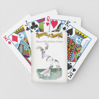 Yorkshire 'home to world class cricket' bicycle playing cards