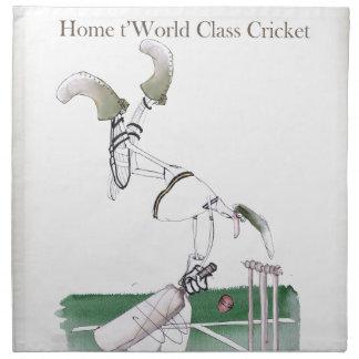 Yorkshire 'home to world class cricket' napkin