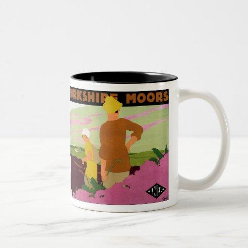 Yorkshire Moors Coffee Mugs
