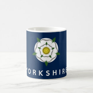 yorkshire province england british flag text name coffee mug