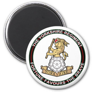 Yorkshire Regiment Fridge Magnet