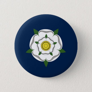 yorkshire region flag british county britain great 6 cm round badge