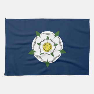yorkshire region flag british county britain great kitchen towels