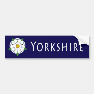 Yorkshire Rose Bumper Sticker