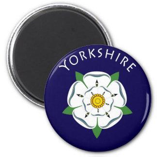 Yorkshire Rose Fridge Magnet