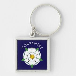 Yorkshire Rose Keyring