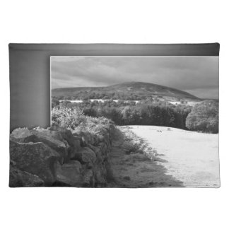 Yorkshire stone wall placemat