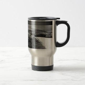 Yorkshire stone wall travel mug