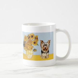 Yorkshire Terrier 17 - Sunflowers Mug