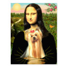 Yorkshire Terrier 1 - Mona Lisa Postcard