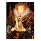 Yorkshire Terrier 1 - Queen Postcard