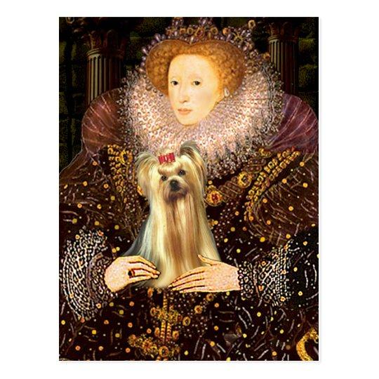 Yorkshire Terrier 1 - Queen Postcard