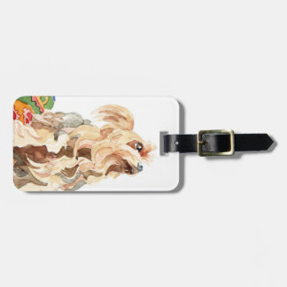 Yorkshire terrier 2012 luggage tag