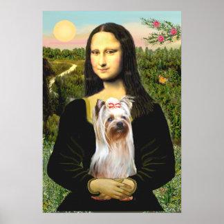 Yorkshire Terrier 2 - Mona Lisa Poster