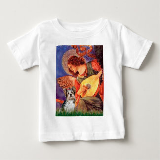 Yorkshire Terrier (Biewer) -Mandolin Angel Baby T-Shirt
