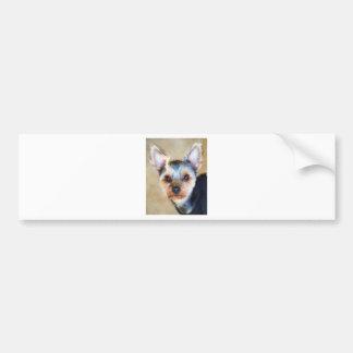 Yorkshire Terrier Bumper Sticker