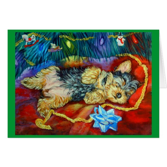 Yorkshire Terrier Card