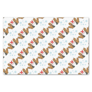 Yorkshire Terrier Christmas Wrapping Tissue Paper
