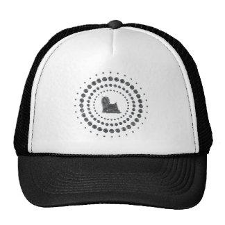 Yorkshire Terrier Chrome Studs Mesh Hats