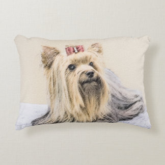 Yorkshire Terrier Decorative Cushion