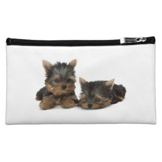Yorkshire Terrier dog yorkie cute cosmetic bag