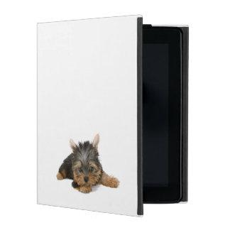 Yorkshire Terrier dog, yorkie puppy ipad case