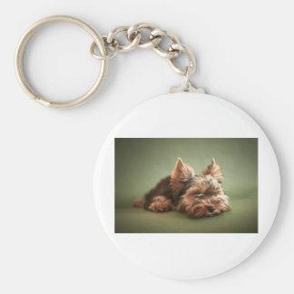 Yorkshire Terrier Key Ring