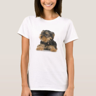 Yorkshire Terrier Ladies Fitted T-Shirt