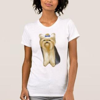 Yorkshire Terrier Ladies Scoop T Shirt