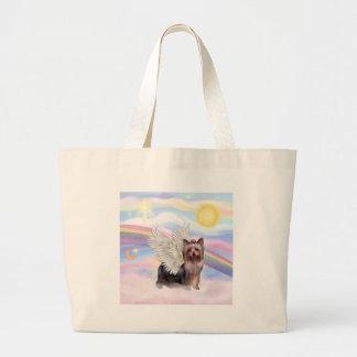Yorkshire Terrier Large Tote Bag
