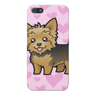Yorkshire Terrier Love (short hair) add a pern Cover For iPhone 5/5S