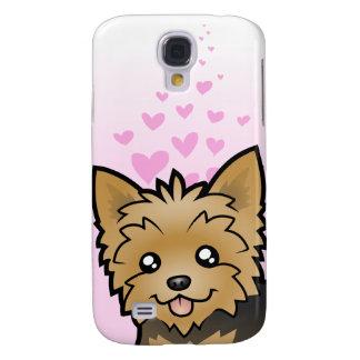 Yorkshire Terrier Love (short hair no bow) Galaxy S4 Case