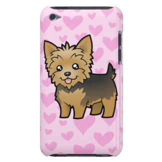 Yorkshire Terrier Love (short hair no bow) Barely There iPod Covers