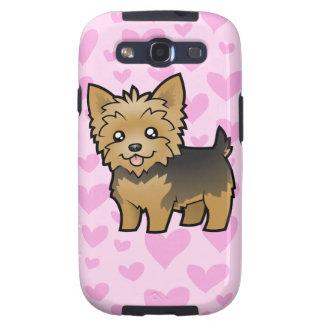 Yorkshire Terrier Love (short hair no bow) Samsung Galaxy SIII Case