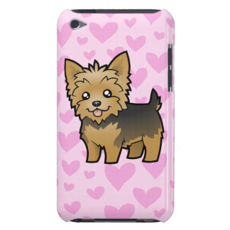 Yorkshire Terrier Love (short hair no bow) Case-Mate iPod Touch Case