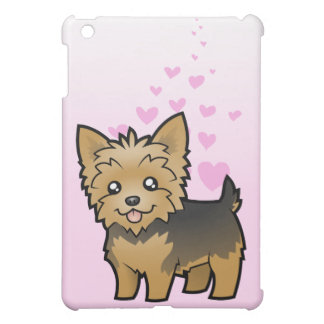 Yorkshire Terrier Love (short hair no bow) iPad Mini Cases