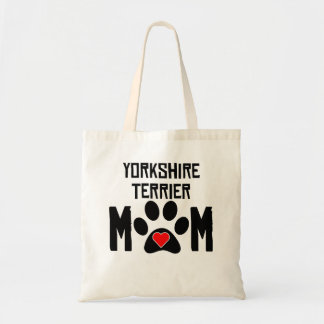 Yorkshire Terrier Mom Budget Tote Bag