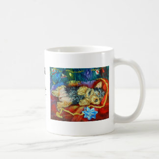 Yorkshire Terrier Classic White Coffee Mug