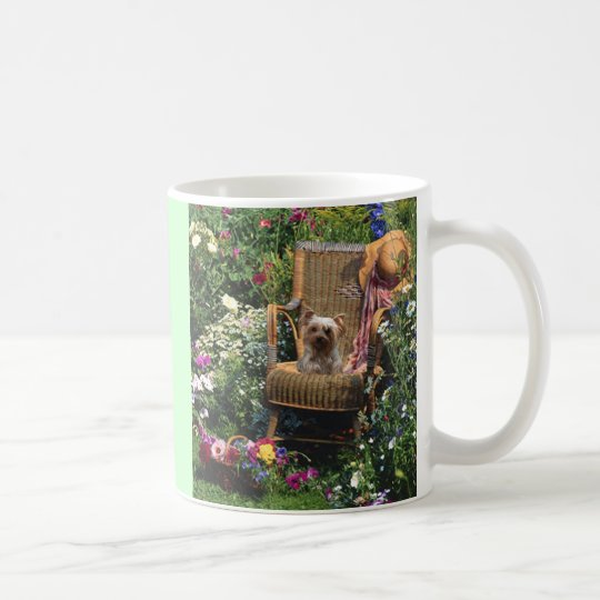 Yorkshire Terrier Mug Garden