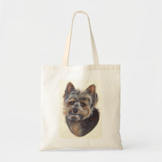 Yorkshire Terrier Painted in Watercolour Tote Bag