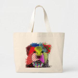 Yorkshire Terrier - Patchwork Large Tote Bag